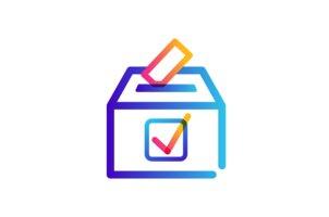 Vote tick icon