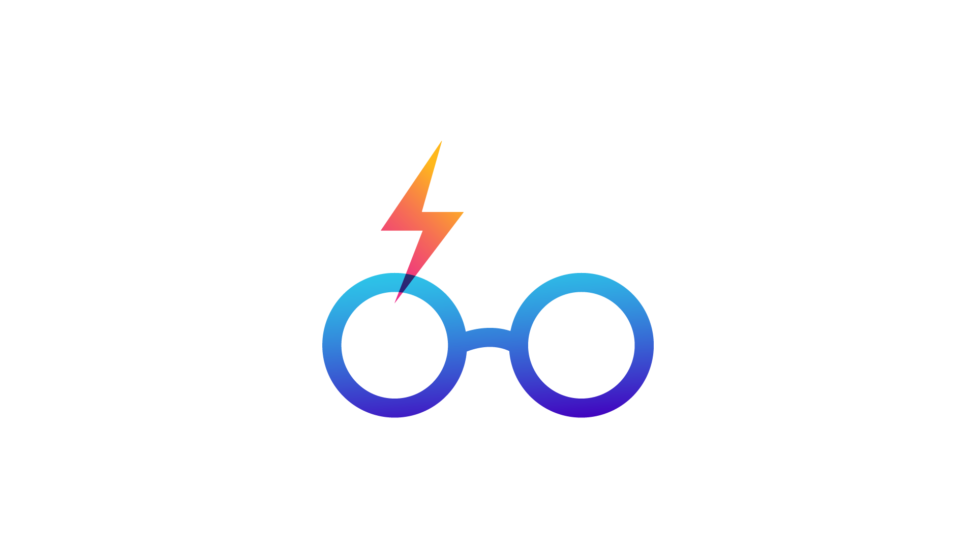 Harry Potter icon - glasses and scar