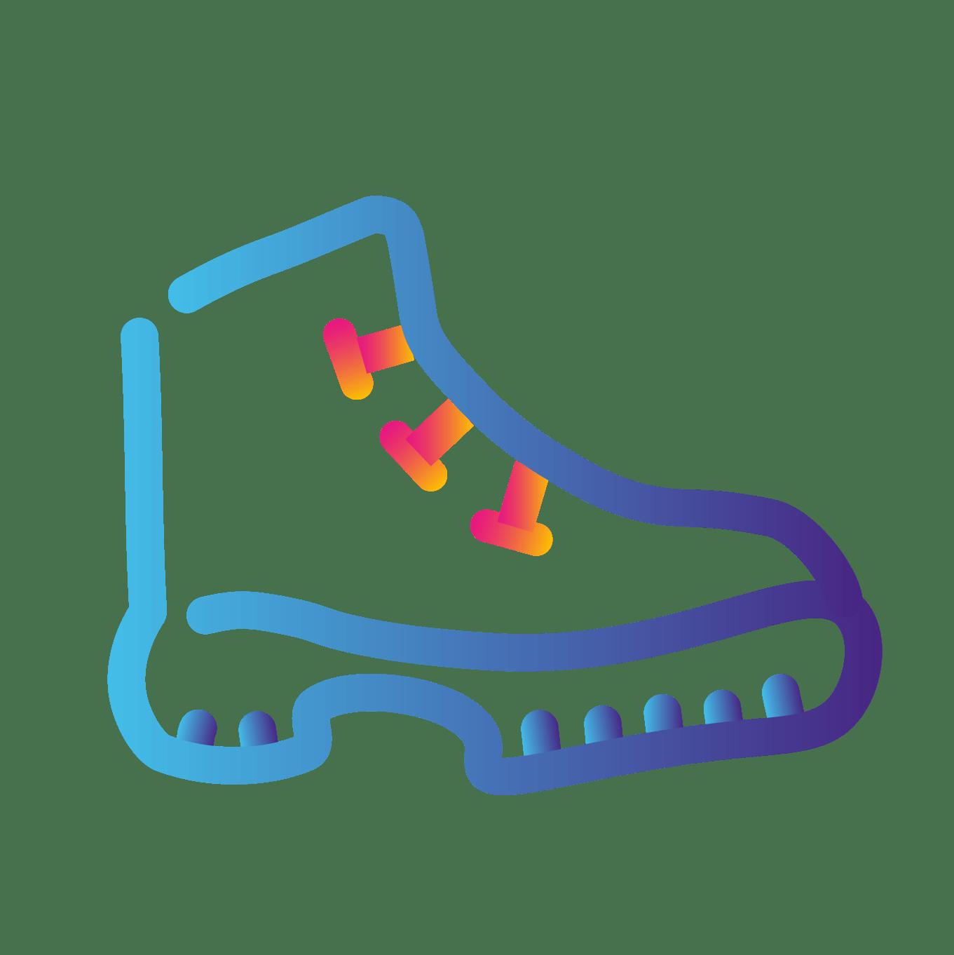 walking boot icon