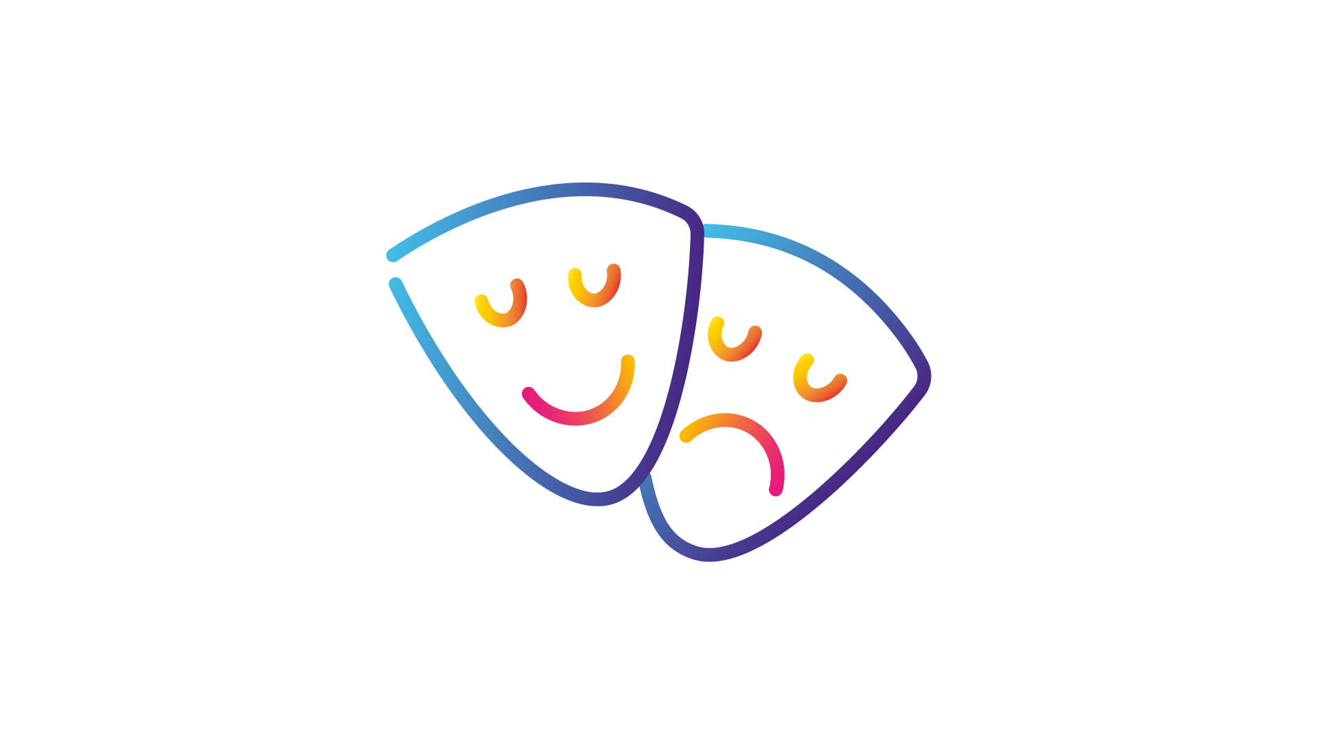 theatre masks icons